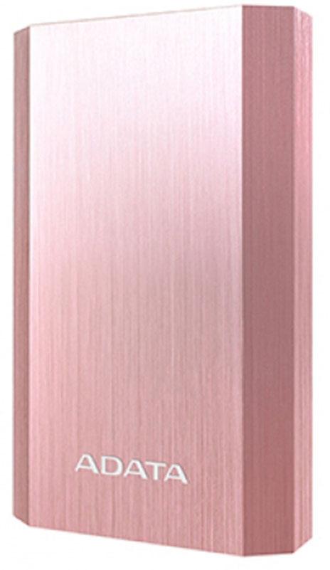 ADATA A10050, Pink Gold внешний аккумулятор (10050 мАч)AA10050-5V-CRGОбеспечивайте работу мобильных устройств с помощью портативного зарядного аккумулятора ADATA A10050,который представляет собой нечто большее, чем просто батарею. Это шедевр инженерного искусства идизайна: очень легкий и стильный, алюминиевая поверхность с рисунком из тонких линий и четкие углы, все этоделает корпус похожим на бриллиант. Внутри источник питания 10050 мАч с двумя портами USB с общей силойтока 3,1 А для быстрой одновременной зарядки смартфонов, планшетов и других устройств. Синхроннаяподзарядка этого аккумулятора и зарядка других устройств позволяет экономить драгоценное время иповышает общую безопасность и эффективность.Аккумулятор A10050 всегда отображает состояние работы. Светодиодный индикатор очень заметен, имеетэлегантный дизайн и всегда показывает актуальную информацию о состоянии: включение, подзарядку изарядку, и что наиболее важно, текущий уровень заряда батареи, включая предупреждающий световой сигналнизкий уровень заряда.Зачем заряжать устройства по очереди, если можно заряжать два устройства одновременно? АккумуляторA10050 имеет два порта USB, один 1 А (идеально подходит для более мелких устройств, например смартфонов),другой 2,1 А - который отлично подходит для планшетов. Это удваивает эффективность зарядки и значительносокращает потенциальное время простоя, позволяя зарядить больше устройств.ADATA гарантирует высокую эффективность, стабильность, долговечность и безопасность зарядногоаккумулятора благодаря проведению всесторонних испытаний и использованию только лучших компонентов -от внутренних схем и проводов до огнестойкого и ударопрочного внешнего корпуса.Для компании ADATA безопасность является основным приоритетом. Зарядный аккумулятор A10050 объединяетв себе несколько функций защиты от чрезмерной подзарядки, разрядки, напряжения, перегрева, тока икороткого замыкания. Шесть специальных мощных высокотехнологичных функций обеспечивают безопасностьдля вас, вашего окру