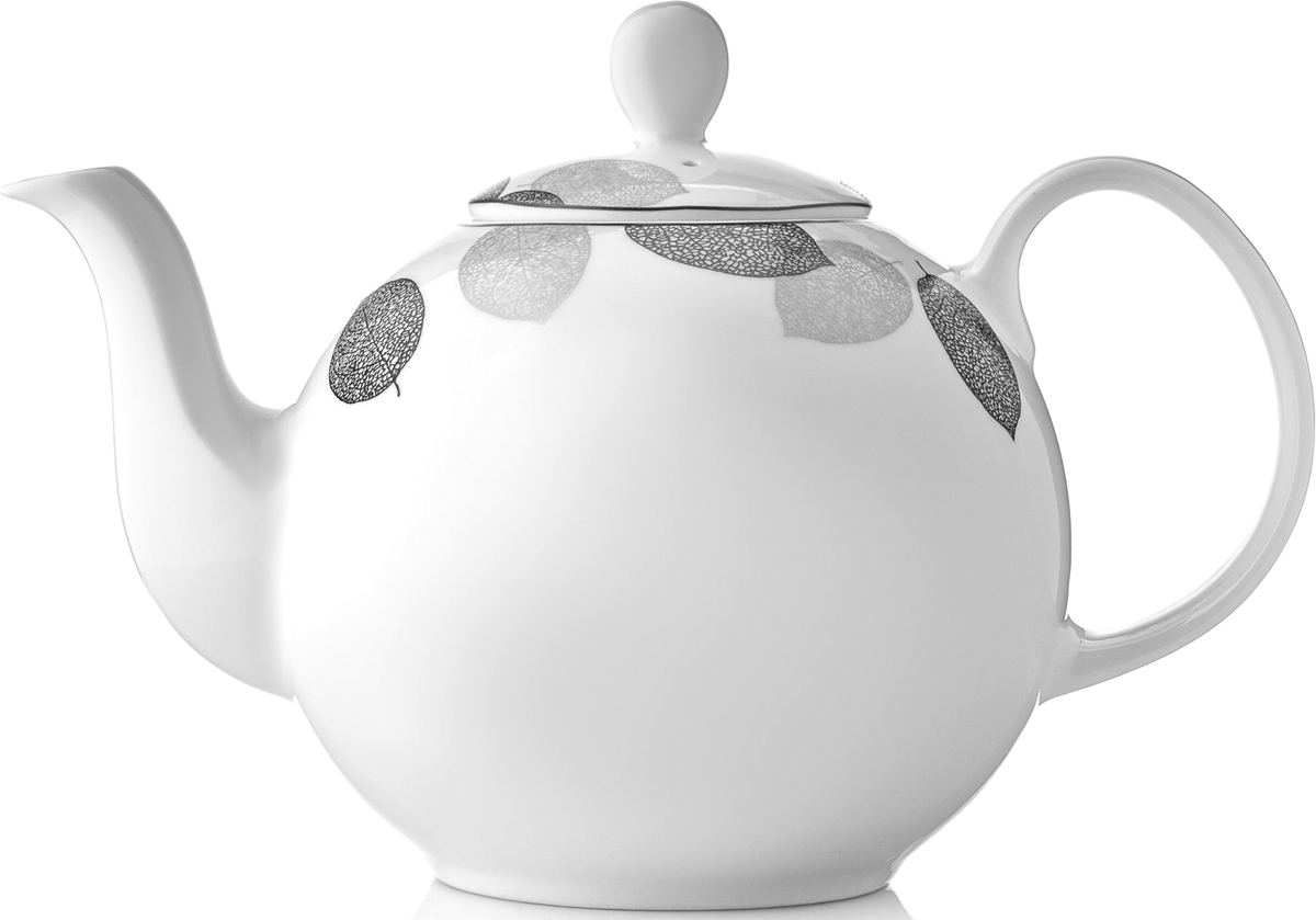 Чайник заварочный Esprado Bosqua Platina, 1,22 лBPLL12SE306Чайник заварочный Esprado Bosqua Platina изготовлен из высококачественного костяного фарфора с глазурованным покрытием, которое обеспечивает легкую очистку. Изделие прекрасно подходит для заваривания вкусного и ароматного чая, а также травяных настоев. Оригинальный дизайн сделает чайник настоящим украшением стола. Он удобен в использовании и понравится каждому.Можно мыть в посудомоечной машине и использовать в микроволновой печи. Диаметр чайника (по верхнему краю): 7,5 см. Высота чайника (без учета крышки): 12 см. Высота чайника (с учетом крышки): 16 см.