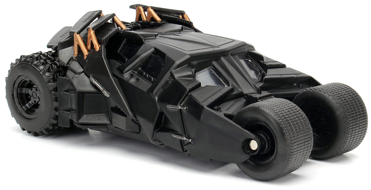 Jada DC Comics Набор фигурок Batmobile 2005 The Dark Knight Batmobile