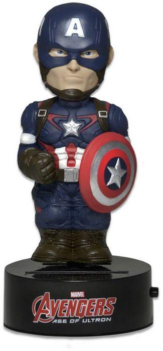 Neca Marvel Фигурка на солнечной батарее Captain America торшер globo xirena 58287