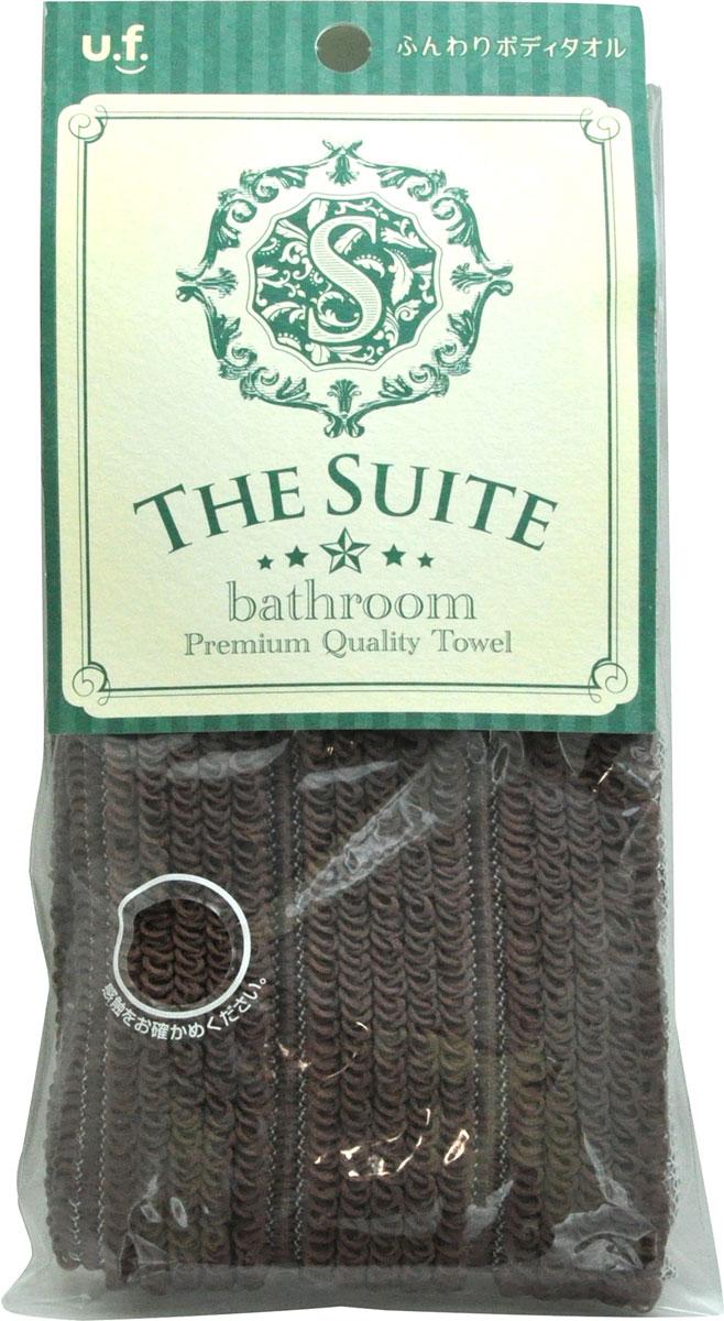 Ohe Мочалка для тела мягкая Премиум, цвет: темно-коричневый612923Мягкая массажная мочалка прекрасно вписывается в интерьер ванной комнаты, имеет мягкий ворс и приятный цвет, нежно очищает кожу.Необычное объемное плетение позволяет создавать густую нежную пену даже при минимальном количестве используемого мыла или геля для душа.