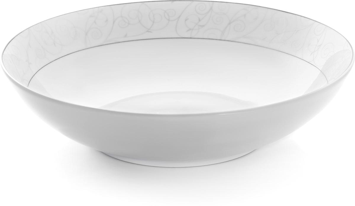 Набор суповых тарелок Esprado Florestina, цвет: белый, диаметр 20 см, 6 штFLO020SE301Набор Esprado Florestina состоит из шести суповых тарелок,выполненных из высококачественного костяного фарфора.Над созданием дизайна коллекций посуды из фарфора Esprado работаетмеждународная командавысококлассных дизайнеров, не только воплощающих вжизнь все новейшие тренды, но также ипридерживающихся многовековых традиций присоздании классических коллекций.Посуда из костяного фарфора будет идеальным выбором,для тех, кто предпочитает красивую современную посудуиз высококачественного материала, которая отличаетсявысокой прочностью и подходит для ежедневногоиспользования.Сдержанный блеск серебра в сочетании с утонченными узорами на идеальномфоне из высококачественного костяного фарфора - европейская изысканностьколлекции Florestina даже самый обычный ужин превратит в праздник! Можно использовать в микроволновки печи и мыть впосудомоечной машине.