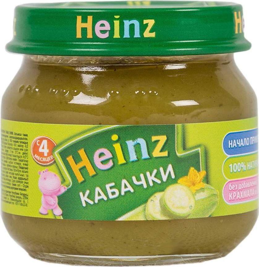 Heinz пюре кабачки, с 4 месяцев, 80 г heinz пюре цыпленок с телятинкой с 6 месяцев 80 г