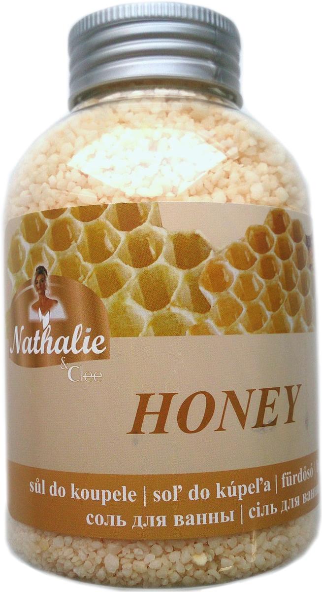 Nathalie Соль для ванны Honey, 600 г8594000720874Соль для ванны с освежающим действием и ароматом меда.
