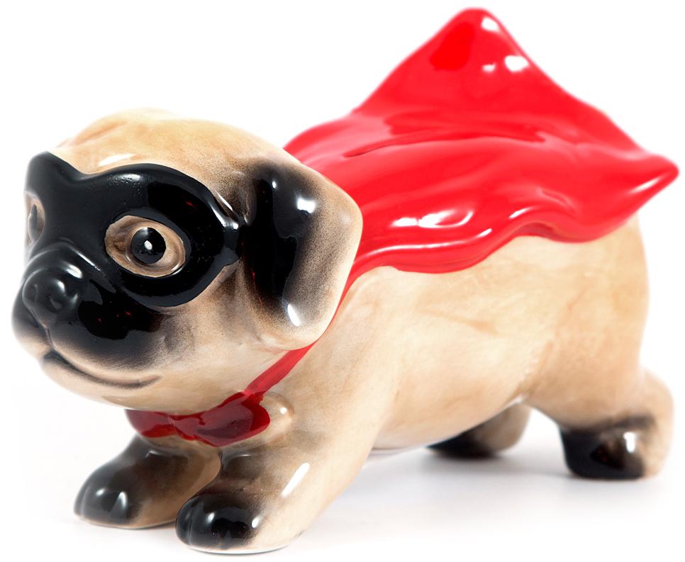 Копилка Супер Собака, 19 х 9 х 12 см27787Символ года - Собака, означает дружбу, верность, преданность. Послужит прекрасным подарком для друзей и близких не только к Новому году , но и будет прекрасным украшением для интрьера.