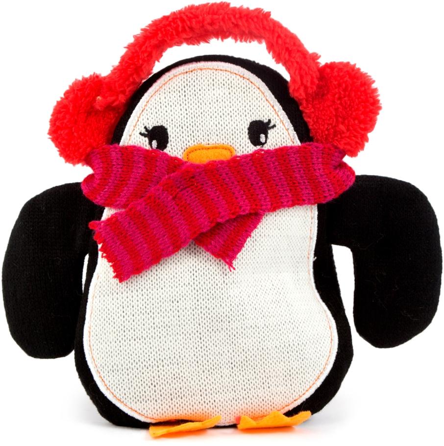 Грелка Пингвин, 20 х 21 см299817Грелка-игрушка украсит детскую комнату, согреет и развеселит вашего малыша.