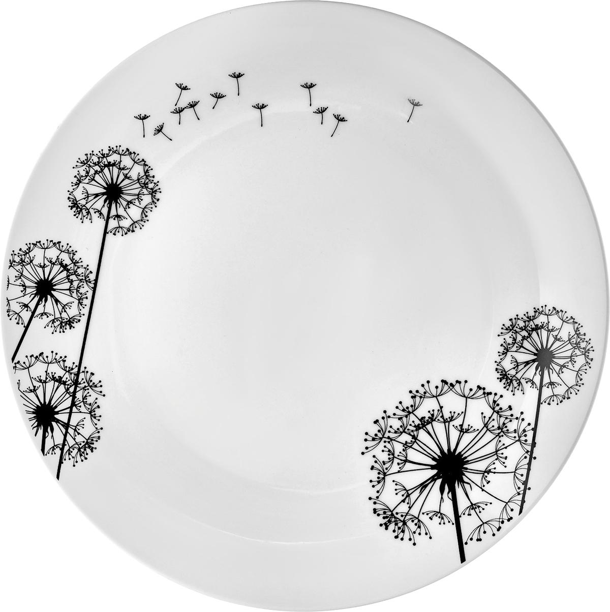 Набор обеденных тарелок Esprado Viente, диаметр 24,5 см, 6 шт посуда из фарфора оптом