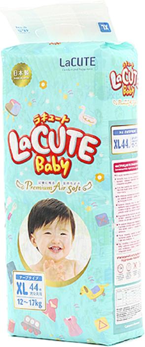 LaCUTE Baby Подгузники Premium Air Soft XL 12-17 кг 44 шт футболка liu jo f74001j7455 р l int
