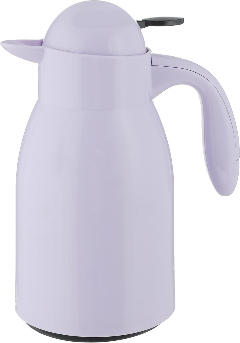Кувшин Herevin, цвет: сиреневый. 161702-500161702-500_сиреневыйКувшин Herevin оснащен удобной ручкой и плотно закрывающейся пластиковой крышкой. Благодаря этому внутри сохраняется герметичность, и напитки дольше остаются свежими. Кувшин прост в использовании, достаточно просто наклонить его и налить ваш любимый напиток. Форма крышки обеспечивает наливание жидкости без расплескивания. Изделие прекрасно подойдет для подачи воды, сока, компота и других напитков. Кувшин Herevin дополнит интерьер вашей кухни и станет замечательным подарком к любому празднику.