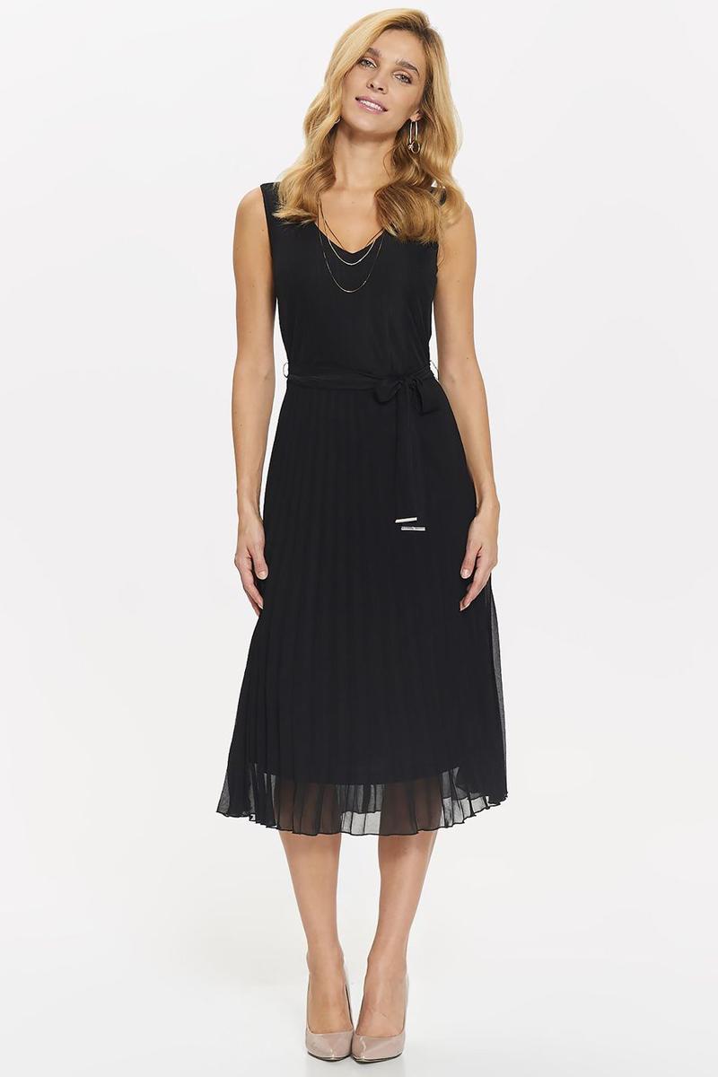 Платье Top Secret, цвет: черный. SSU2036CA. Размер 36 (44)SSU2036CAПлатье Top Secret выполнено из качественного материала. Модель с V-образным вырезом горловины.