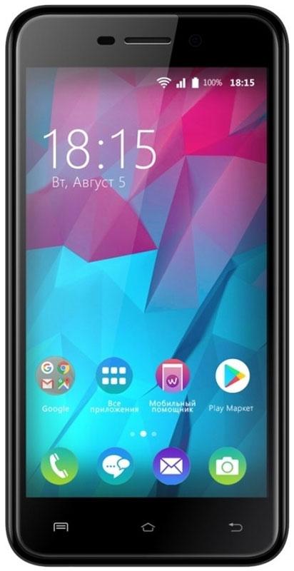 BQ 5000L Trend, Black85953796BQ представляет новый смартфон BQ 5000L Trend.Одно из главных преимуществ смартфона это яркий 5-дюмовый IPS экран. Вы сможете просматривать видео, в формате высокой четкости наслаждаясь улучшенными углами обзора благодаря применению технологии 2.5D. За эффективное использование всех ресурсов устройства отвечает новейшая ОС Android 7.0.Производительный четырехъядерный процессор и 1 ГБ оперативной памяти позволяет играть в новейшие игры и использовать все современные приложения без зависаний. Девайс поддерживает инновационную технологию VoLTE которая значительно улучшает связь в режиме разговора. 8 Гб встроенной памяти можно увеличить до 32 ГБ используя MicroSD.За качественные снимки отвечают две камеры. Основная с разрешением 8 Мпикс и фронтальная оптика с разрешением 5 Мпикс. Владельцам модели будет доступен высокоскоростной интернет 4G/LTE.Смартфон сертифицирован EAC и имеет русифицированный интерфейс меню и Руководство пользователя.