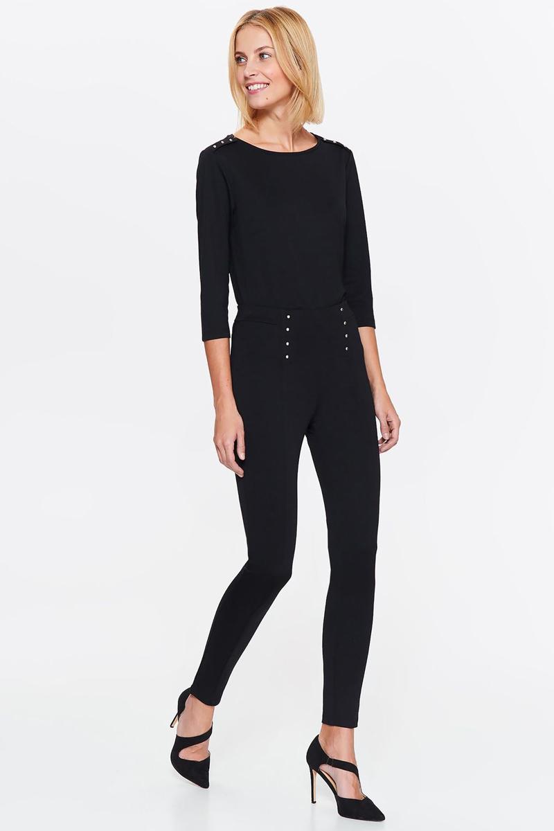 Брюки женские Top Secret, цвет: черный. SLE0065CA. Размер 38 (46) брюки женские top secret цвет красный ssp2820ce размер 42 50