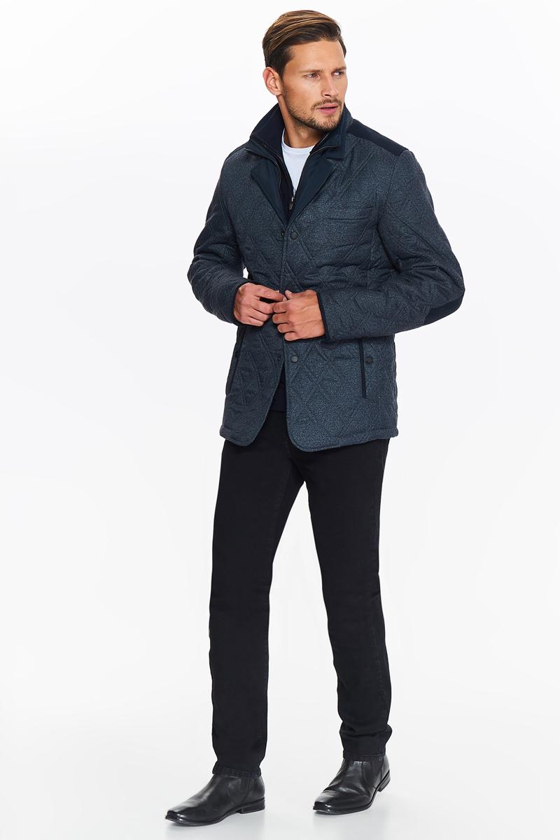 Куртка мужская Top Secret, цвет: темно-синий. SKU0823GR. Размер XL (50) футболка мужская top secret цвет темно синий spo3354gr размер xl 50