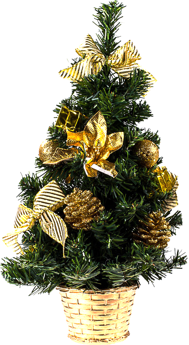 Елка настольная c игрушками Vita Pelle, 40 см. K11EL1915K11EL1915Милая наряженная елочка в корзинке украшена игрушками и мишурой. Она будет уместна и дома, и в офисе. Она преобразит пространство, подарив праздник и новогоднее настроение. Небольшой размер елочки позволит разместить ее где угодно.
