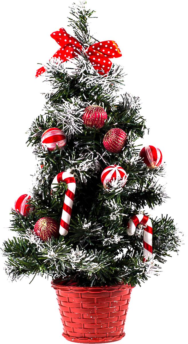 Елка настольная c игрушками Vita Pelle, 40 см. K11EL1925K11EL1925Милая наряженная елочка в корзинке украшена игрушками и мишурой. Она будет уместна и дома, и в офисе. Она преобразит пространство, подарив праздник и новогоднее настроение. Небольшой размер елочки позволит разместить ее где угодно.