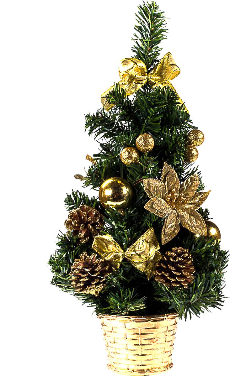 Елка настольная c игрушками Vita Pelle, 40 см. K11EL1934K11EL1934Милая наряженная елочка в корзинке украшена игрушками и мишурой. Она будет уместна и дома, и в офисе. Она преобразит пространство, подарив праздник и новогоднее настроение. Небольшой размер елочки позволит разместить ее где угодно.