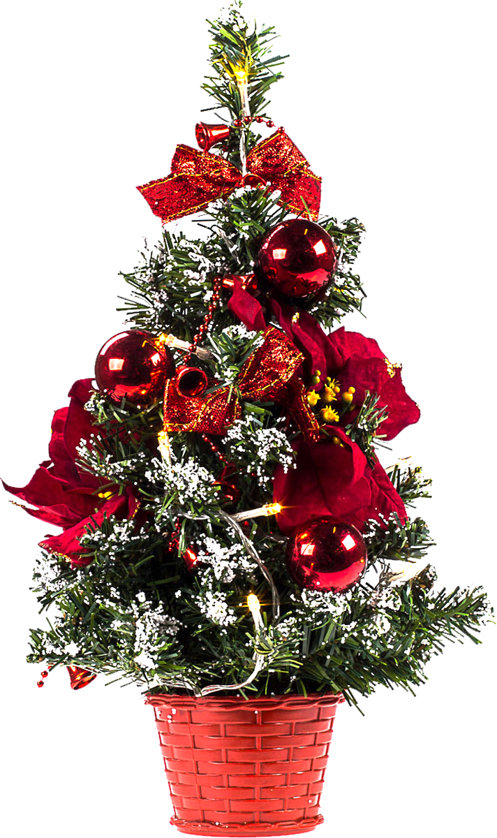 Елка настольная c игрушками и гирляндой Vita Pelle, 40 см. K11EL2020K11EL2020Милая наряженная елочка в корзинке украшена игрушками, мишурой и гирляндой. Она будет уместна и дома, и в офисе. Весело подмигивая всеми своими огоньками, она преобразит пространство, подарив праздник и новогоднее настроение.