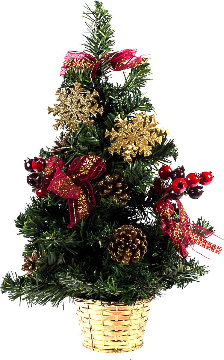 Елка настольная c игрушками Vita Pelle, 50 см. K11EL5065K11EL5065Милая наряженная елочка в корзинке украшена игрушками и мишурой. Она будет уместна и дома, и в офисе. Она преобразит пространство, подарив праздник и новогоднее настроение. Небольшой размер елочки позволит разместить ее где угодно.