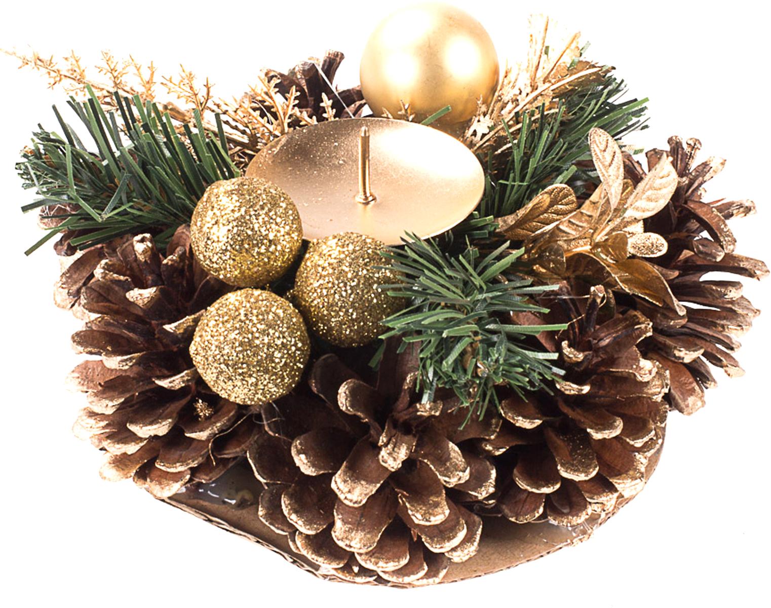 Подсвечник-сосновые шишки Vita Pelle, для длинной свечи. К11p2314К11p2314Подсвечник из сосновых шишек для длинной свечи