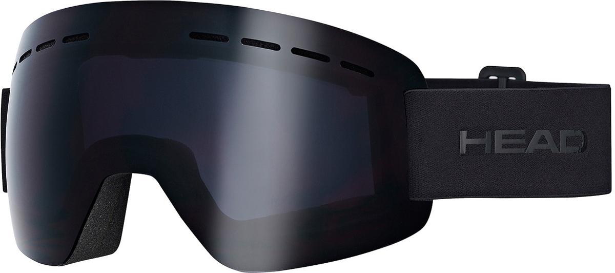 Маска горнолыжная HEAD Solar, цвет: черный394407Супер легкая маска HEAD Solar FMR изготовлена по абсолютно безрамной технологии Real No Frame, которая повышает поле обзора. Маска имеет прессованный преформованный поликарбонатный двойной линзовый блок. Линзы Flash Mirror имеют зеркальную поверхность. Внутренняя поверхность обработана слоем анитифога предотвращающим запотевание. Защита UV 400. В маске используется 3-х слойный уплотнитель. Светопропускаемость 13%. Что взять с собой на горнолыжную прогулку: рассказывают эксперты. Статья OZON Гид