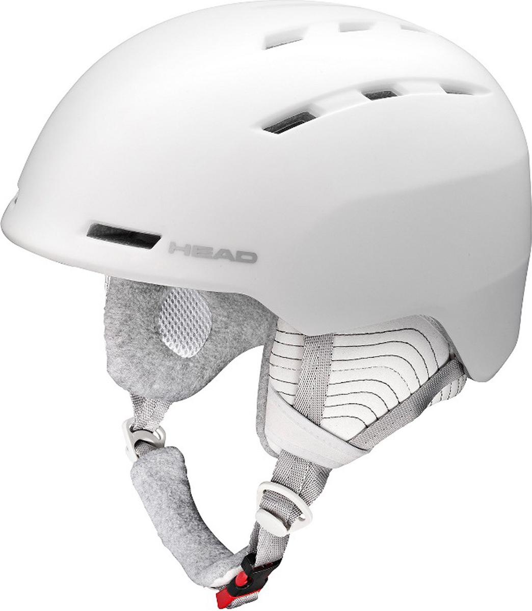 Шлем горнолыжный/сноубордический женский Head Valery. Размер M/L (56-59)325607 (M/L)Шлем Valery - бестселлер в женской коллекции HEAD. Его отличительнаяособенность - экстремально малый вес и супер удобная посадка на голове.Построена по уже известной технологии горячей прессовки, имеет отличнуювентиляцию по периметру и вентиляцию маски.Особенности:- Облегченный ABS,- Вентиляция Thermal,- Вентиляция маски,- Подкладка из микрофлиса,- Регулировка размера HEAD 3D Fit,- Эргономический воротник с регулировкой положения на шлеме,- Сертификат CE EN 1077:2007 Class B,- Вес: m/l 420 г.Что взять с собой на горнолыжную прогулку: рассказывают эксперты. Статья OZON Гид