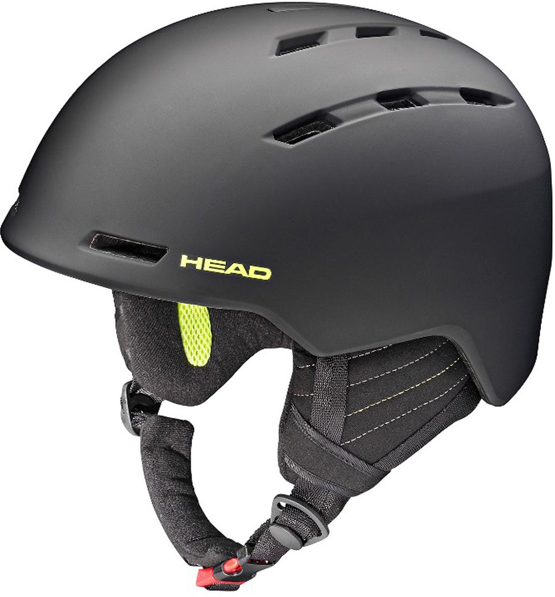 Шлем для горных лыж и сноуборда HEAD Vico. Размер M/L (56-59)324557 (M/L)Бестселлер в коллекции HEAD - шлем для горных лыж и сноуборда Vico. Его отличительная особенность- экстремально малый вес и супер удобная посадка на голове. Построена по ужеизвестной технологии горячей прессовки, имеет отличную вентиляцию попериметру и вентиляцию маски.Особенности:- Облегченный ABS,- Вентиляция Thermal,- Вентиляция маски,- Подкладка из микрофлиса,- Регулировка размера HEAD 3D Fit,- Эргономический воротник с регулировкой положения на шлеме,- Сертификат CE EN 1077:2007 Class B,- Вес: m/l 420 г.Что взять с собой на горнолыжную прогулку: рассказывают эксперты. Статья OZON Гид
