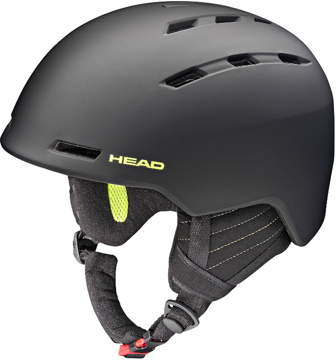 Шлем для горных лыж и сноуборда HEAD Vico. Размер XL/XXL (60-63)324557 (XL/XXL)Бестселлер в коллекции HEAD - шлем для горных лыж и сноуборда Vico. Его отличительная особенность- экстремально малый вес и супер удобная посадка на голове. Построена по ужеизвестной технологии горячей прессовки, имеет отличную вентиляцию попериметру и вентиляцию маски.Особенности:- Облегченный ABS,- Вентиляция Thermal,- Вентиляция маски,- Подкладка из микрофлиса,- Регулировка размера HEAD 3D Fit,- Эргономический воротник с регулировкой положения на шлеме,- Сертификат CE EN 1077:2007 Class B,- Вес: m/l 420 г.Что взять с собой на горнолыжную прогулку: рассказывают эксперты. Статья OZON Гид