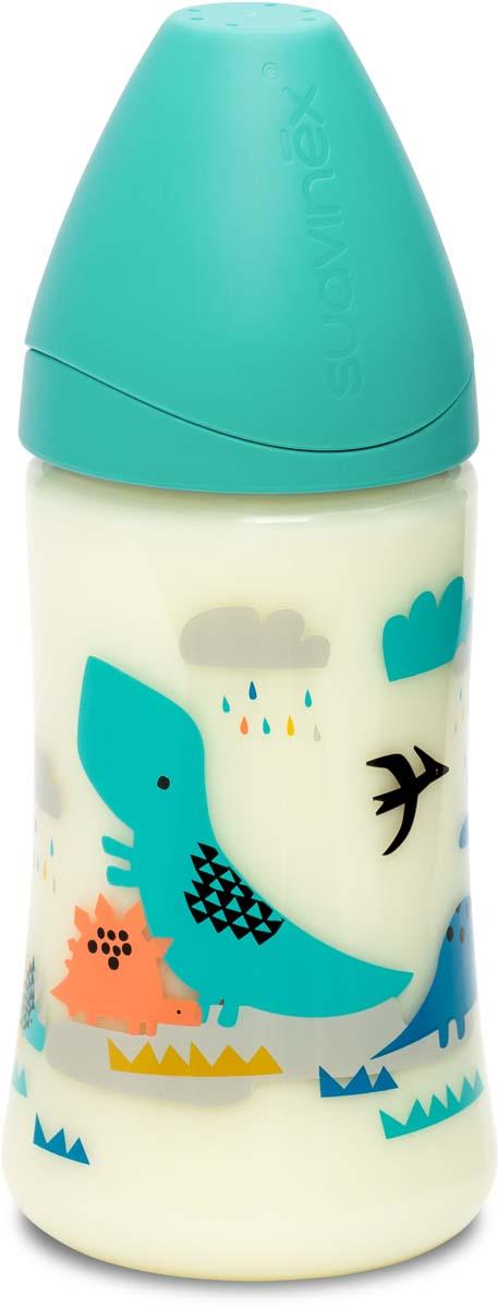 Suavinex Бутылочка от 0 месяцев с силиконовой соской цвет голубой 270 мл 3800055 suavinex бутылочка от 0 месяцев с силиконовой соской цвет розовый 270 мл 3800055