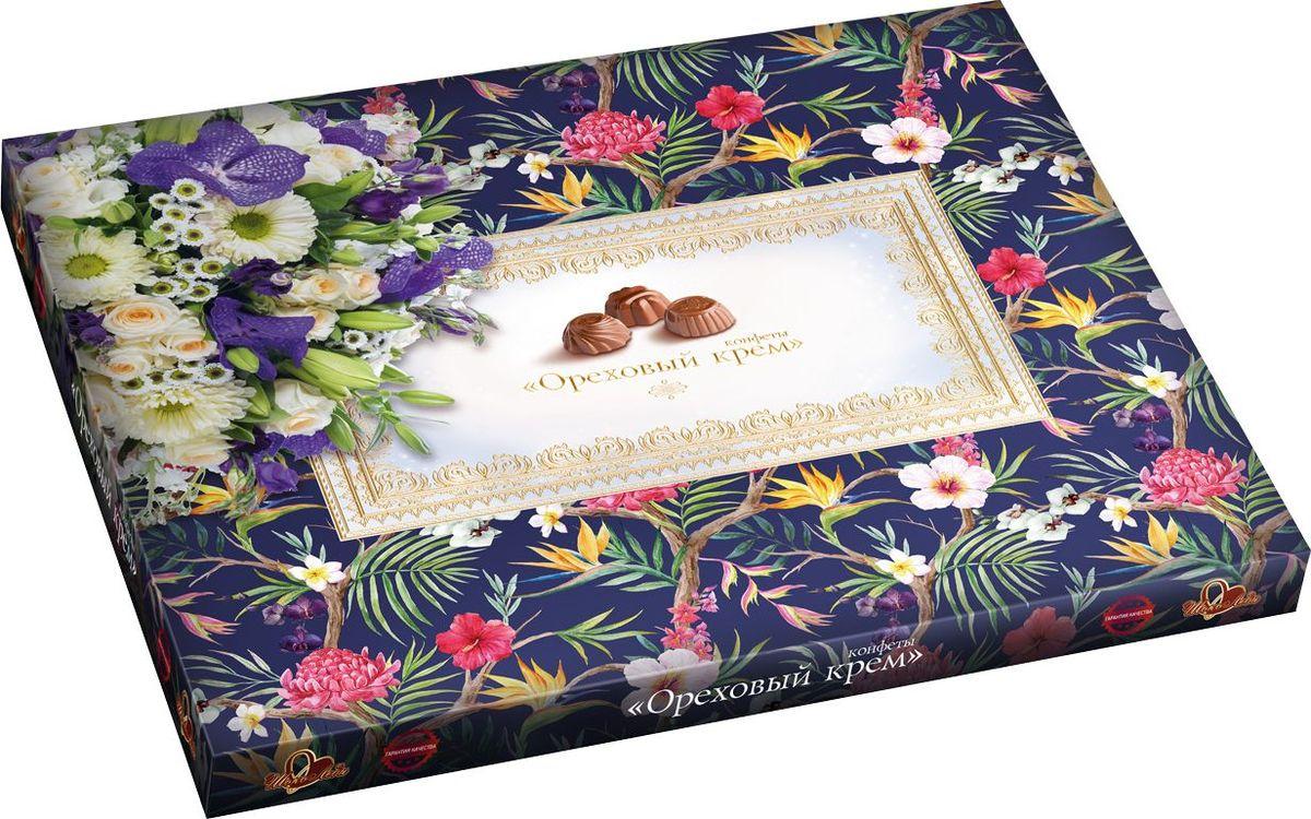 ШокоЛеди Конфеты ассорти с начинкой ореховый крем, 340 г (Орхидеи) nuts bank крем ореховый фисташковый 250 г