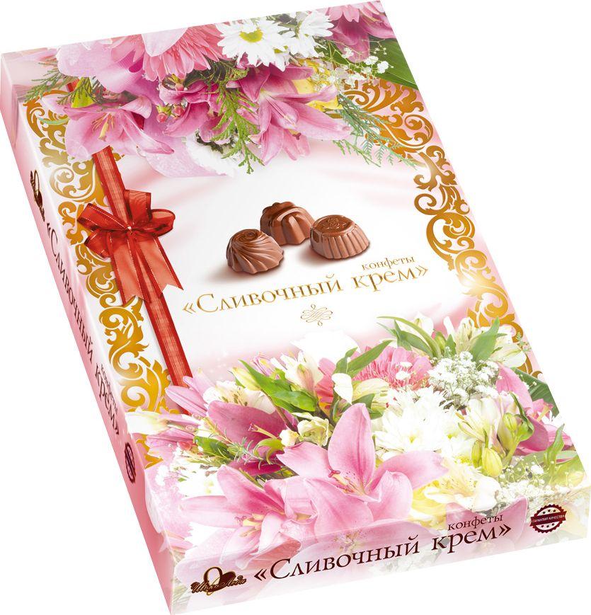 ШокоЛеди Конфеты ассорти с начинкой сливочный крем, 110 г (Лилии)