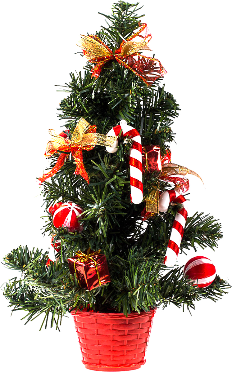 Елка настольная c игрушками Vita Pelle, 30 см. K11EL17011K11EL17011Милая наряженная елочка в корзинке украшена игрушками и мишурой. Она будет уместна и дома, и в офисе. Она преобразит пространство, подарив праздник и новогоднее настроение. Небольшой размер елочки позволит разместить ее где угодно.
