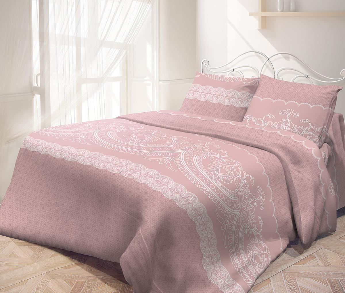 """Комплекты постельного белья """"Самойловский текстиль"""" - это максимально натуральный, естественный комфорт и невероятно приятные тактильные ощущения и актуальные современные дизайны.  Чрезвычайно мягкая на ощупь поверхность хлопковой ткани Cottonsoft - будто нежный и мягкий лепесток цветка. Она имеет бархатистую структуру благодаря использованию особого сырья и технологий при производстве. Неприхотливая в уходе, 100% натуральная, износостойкая, но самое главное - особенно мягкая, она безусловно понравится тем, кто любит понежиться в постели и станет отличной альтернативой традиционным комплектам из тканей полотняной структуры.  Комплект состоит из пододеяльника, простыни и двух наволочек.       Советы по выбору постельного белья от блогера Ирины Соковых. Статья OZON Гид"""