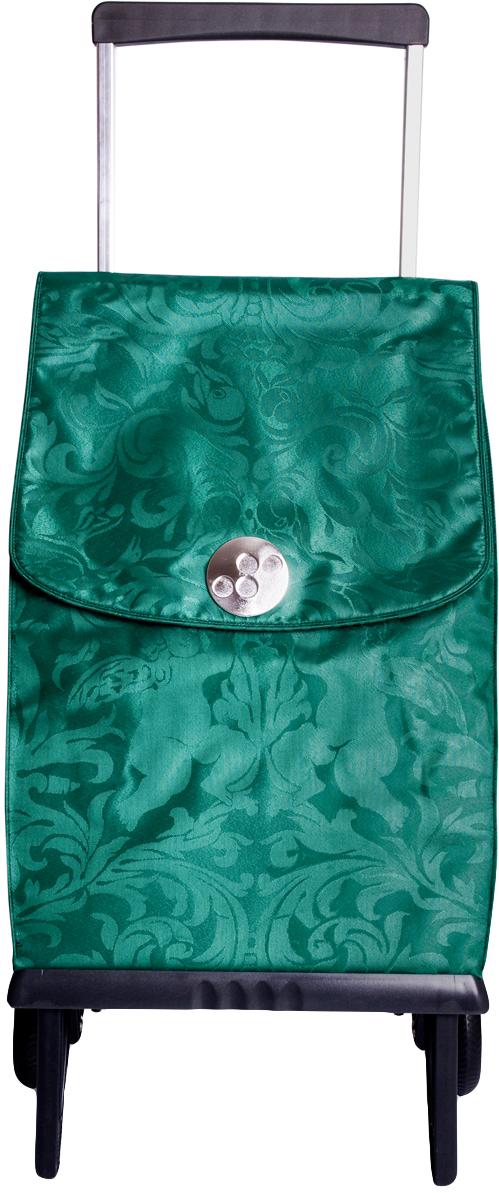 Сумка-тележка Rolser Plegable, цвет: зеленый, 42 л. PLE055PLE055 verdeЛегкая мобильная конструкция на 2-х колесах в два движения трансформируется из тележки в простую сумку, которую можно нести в одной руке. Сумка закрывается на липучку. Есть внутренний карман для мелочей.в сложенном виде можно носить на плече диаметр колес: 11,5см