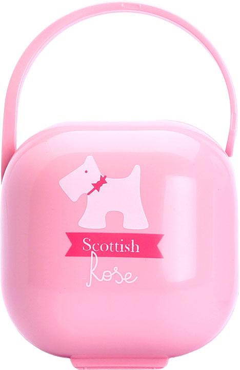 Suavinex Футляр для пустышки Scottish от 0 месяцев цвет розовый suavinex scottish голубая 150 мл
