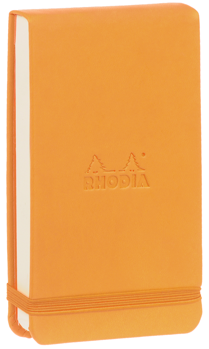 Блокнот Clairefontaine Rhodia, точки, формат A6, цвет обложки: оранжевый, 96 листов как соблазнять труднодоступных женщин