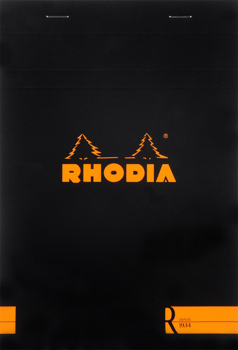Блокнот Clairefontaine Rhodia, с микроперфорацией, формат A5, 70 листов162008СБлокнот Clairefontaine Rhodia с отрывными листами универсального использования. Параметры:блокнот-склейка на скобах;формат А 5 (14,8 х 21 см);плотность 80гр/м2;цвет бумаги: слоновая кость.