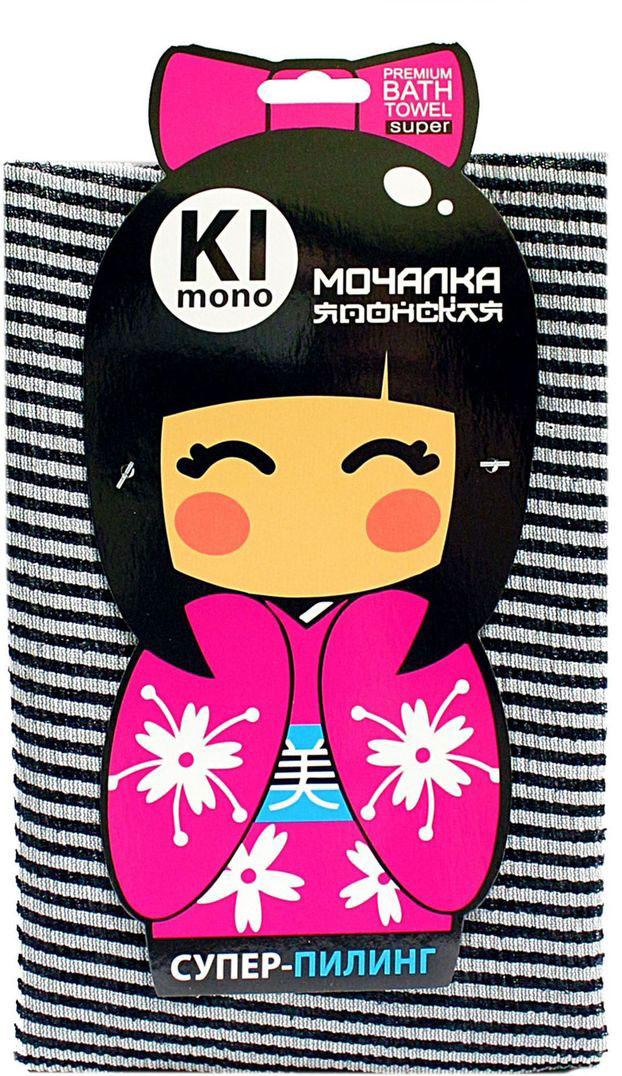 Мочалка-полотенце Eva Kimono. М34131М34131Мочалка-полотенце массажная Eva Kimono, изготовленная из скраб-нейлона (многоволокнистой нейлоновой нити с объемным плетением) является оригинальным товаром для ценителей японских мочалок, обладает высоким массажным эффектом. Мочалка с самым высоким уровнем жесткости обладает эффектом скраба, кожа становится чистой, упругой и свежей. Идеальна для профилактики и борьбы с целлюлитом.Размер мочалки: 30 х 90 см.