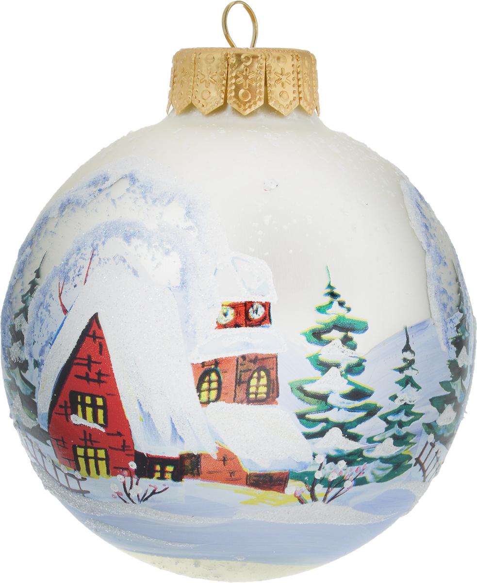 Украшение новогоднее подвесное Sima-land, диаметр 10 см. 26907372690737