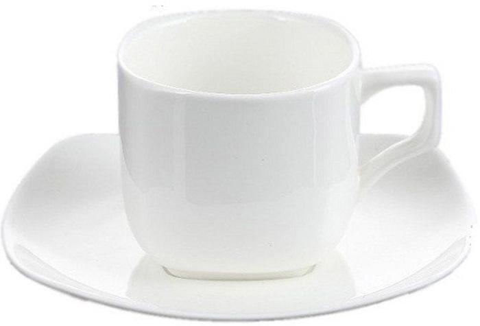 Набор Wilmax: кофейная чашка 90 мл и блюдце, 6 парWL-880107-JV / 6CКрасивая и элегантная кофейная чашка и блюдце Wilmax для наслаждения крепким утренним эспрессо.