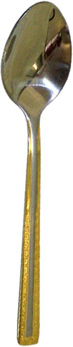 Чайная ложка MiEssa Venezia Gold. MVEG-103TSR2S965/BLOB-ALЧайная ложка MiEssa Venezia Gold выполнена из нержавеющейстали c зеркальной полировкой, удобна в использовании инезаменима в период,когда малыш учится есть самостоятельно. Ручка оформлена рельефным рисунком.