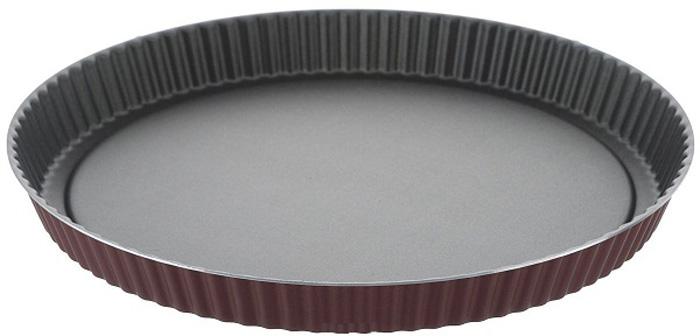 Форма для выпечки Калитва Teflon Classiс, диаметр 26 см. 8452684526Форма для выпечки Калитва Teflon Classiс, выполненная из алюминия сантипригарным покрытием, будет отличным выбором для всехлюбителей домашней выпечки. Антипригарное покрытие препятствуетпригоранию и обеспечивает легкую очистку после использования. Выпечка легкоизвлекается из формы.