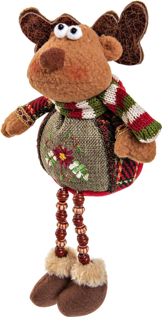 Игрушка новогодняя Mister Christmas Олень, высота 23 смCHL-504DRНовогодняя игрушка Mister Christmas Олень, изготовленная из текстиля, прекрасно подойдет для праздничного декора дома. Изделие можно разместить в любом понравившемся вам месте. Новогодняя игрушка несет в себе волшебство и красоту праздника. Создайте в своем доме атмосферу веселья и радости, украшая дом красивыми игрушками, которые будут из года в год накапливать теплоту воспоминаний.