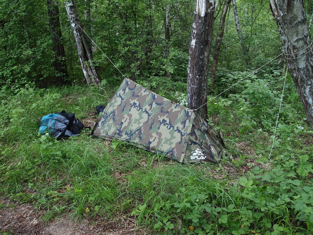 Палатка Сплав Settler R, одноместная, цвет: зеленый5050110Универсальна легкая однослойная палатка с отдельным тамбуром.В качестве стоек можно использовать штатные стойки, покупаемые отдельно, трекинговые палки или подручный материал.Дополнительные петли на коньке позволяют устанавливать палатку без стоек при помощи внешних опор. К примеру, между двумя деревьями.Имеет не только просторное спальное отделение на одного человека, но и достаточно просторный, полностью закрываемый тамбур для вещей.Все швы проклеены.Вентиляционное окно на торцевом скате и большое вентиляционное окно с противомоскитной сеткой в спальном отделении создают хорошую проточную вентиляцию.Разъемные стягивающие стропы на сумке позволят легко ее закрепить под рюкзаком без дополнительных элементов крепления. При этом палатку можно будет доставать из сумки, не отстегивая саму сумку от рюкзака (необходимое условие: рюкзак должен иметь на дне стропы для внешней навески).Веревки оттяжек имеют вплетенную светоотражающую нить.Стойки и колышки в комплект не входят.Сезонность: 3.Количество мест: 1.Габариты и вес:Размеры внешней палатки, тента (Д?Ш?В): 235?140?100 см.Размеры спального места (Д?Ш?В): 235?80/50?100/60 см.Размеры в упакованном виде (Д?Ш?В): 42?14?14 см.Полный вес: 1,10 кг.Материалы:Внешний тент: Polyester 75D/190T PU 3000 мм.Дно: Polyester 100D PU 5000 мм.Фурнитура: YKK. Что взять с собой в поход?. Статья OZON Гид
