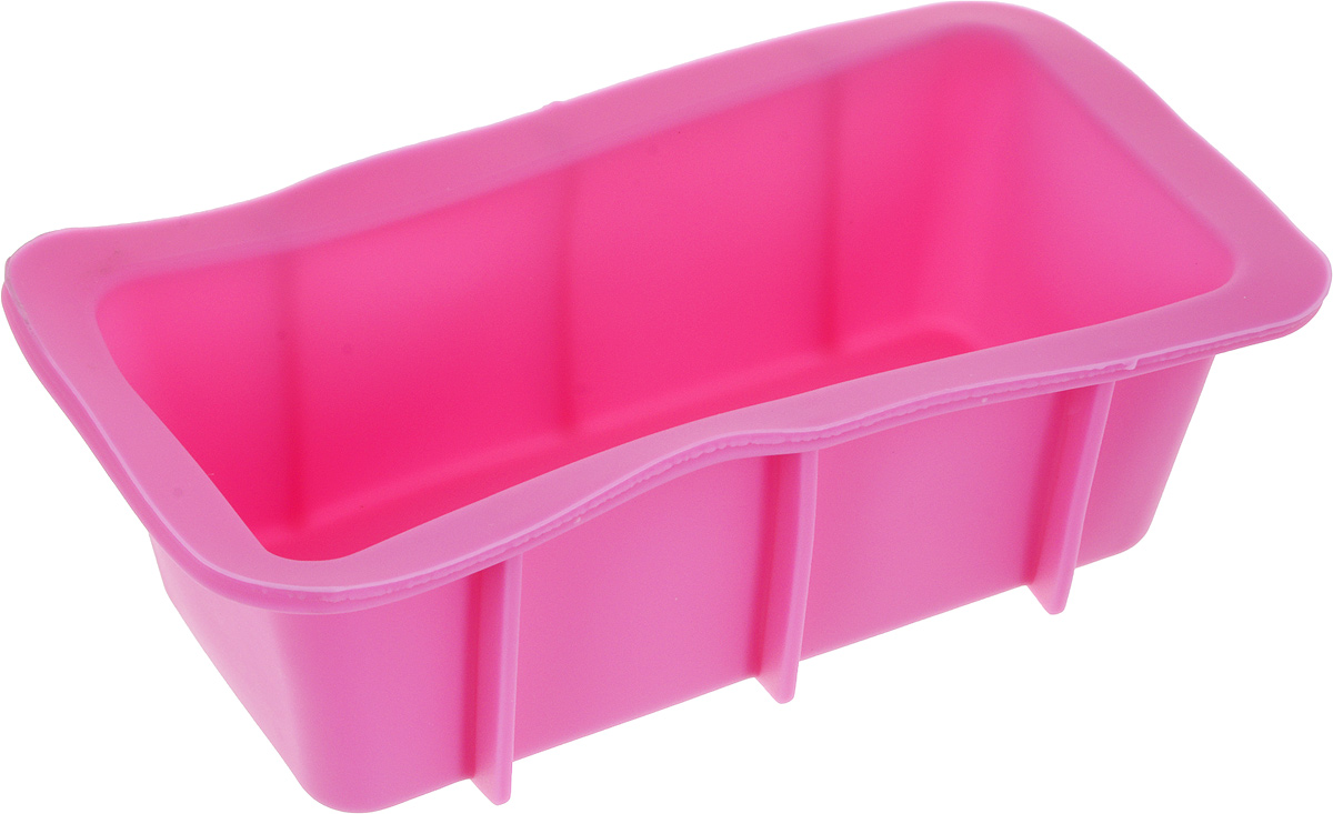 Форма для выпечки Доляна Прямоугольник, цвет: розовый, 16,5 х 8,3 х 5,3 см1847978Форма для выпечки из силикона - современное решение для практичных ирадушных хозяек. Оригинальный предмет позволяет готовить в духовкелюбимые блюда из мяса, рыбы, птицы и овощей, а также вкуснейшую выпечку.Почему это изделие должно быть на кухне?- блюдо сохраняет нужную форму и легко отделяется от стенок послеприготовления;- высокая термостойкость (от -40 до 230 С) позволяет применять форму вдуховых шкафах и морозильных камерах;- небольшая масса делает эксплуатацию предмета простой даже для хрупкойженщины;- силикон пригоден для посудомоечных машин;- высокопрочный материал делает форму долговечным инструментом;- при хранении предмет занимает мало места.Советы по использованию формы:Перед первым применением промойте предмет тёплой водой.В процессе приготовления используйте кухонный инструмент из дерева,пластика или силикона.Перед извлечением блюда из силиконовой формы дайте ему немного остыть,осторожно отогните края предмета.Готовьте с удовольствием!