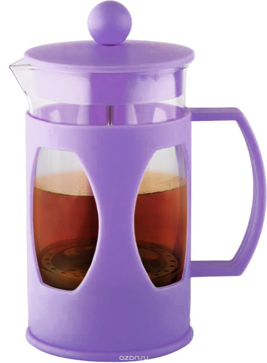 Френч-пресс Fissman Mokka, 600 млFP-9004.600Френч-пресс Fissman Mokka отлично подходит для заваривания чая или кофе. Выполнен из термостойкого стекла, высококачественной нержавеющей стали и прочной пластмассы. Инструкция по приготовлению напитков внутри.Стеклянную банку можно мыть в посудомоечной машине, остальные части нельзя мыть в посудомоечной машине.