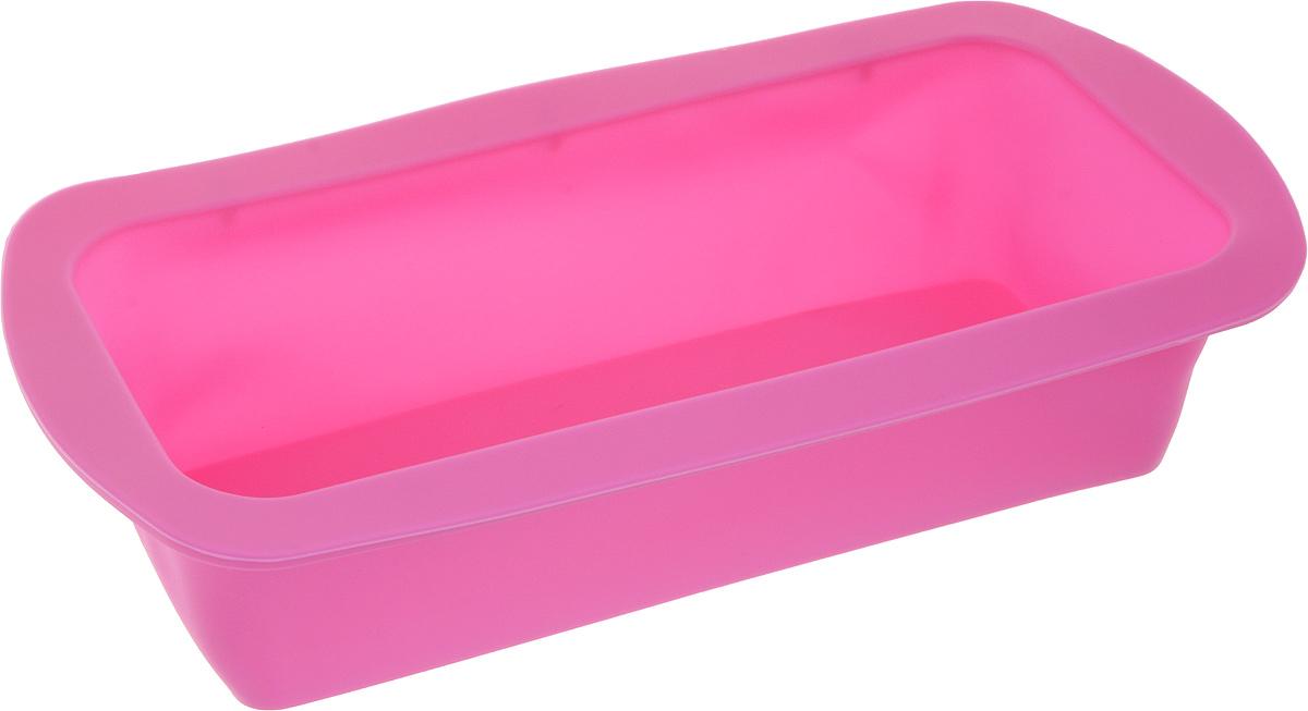 Форма для выпечки Доляна Элегия, цвет: розовый, 27,5 х 13 х 6 см775523_розовыйФорма для выпечки из силикона — современное решение для практичных и радушных хозяек. Оригинальный предмет позволяет готовить в духовке любимые блюда из мяса, рыбы, птицы и овощей, а также вкуснейшую выпечку. Почему это изделие должно быть на кухне? - блюдо сохраняет нужную форму и легко отделяется от стенок после приготовления; - высокая термостойкость (от –40 до 230 °C) позволяет применять форму в духовых шкафах и морозильных камерах; - небольшая масса делает эксплуатацию предмета простой даже для хрупкой женщины; - силикон пригоден для посудомоечных машин; - высокопрочный материал делает форму долговечным инструментом; - при хранении предмет занимает мало места. Советы по использованию формы Перед первым применением промойте предмет тёплой водой. В процессе приготовления используйте кухонный инструмент из дерева, пластика или силикона. Перед извлечением блюда из силиконовой формы дайте ему немного остыть, осторожно отогните края предмета. Готовьте с удовольствием!