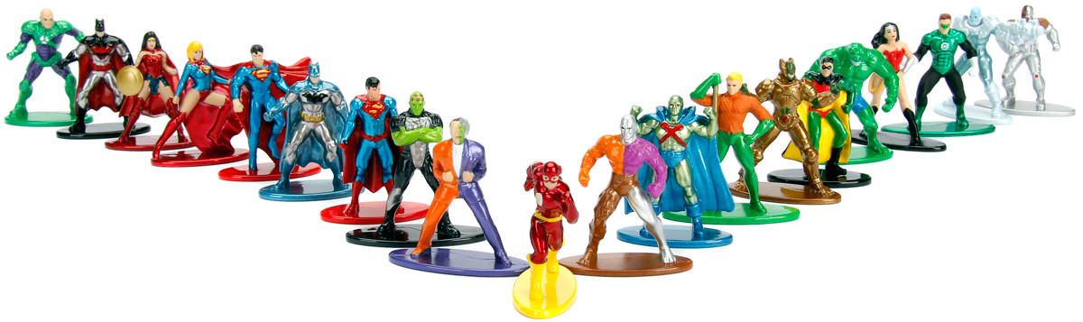 Jada DC Comics Набор фигурок 20 шт