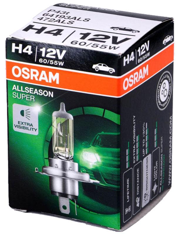 Лампа галогенная Osram H4 Allseason 12V, 60/55W, 3200 К, 1 шт64193ALSСреди всех электроустановочных и электромонтажных изделий осветительная аппаратура имеет наиболее богатый ассортимент. Это происходит потому, что элементы освещения несут в себе не только сугубо технические характеристики, но и элементы дизайна. Возможности современных ламп и светильников, их конструкторское разнообразие настолько велики, что немудрено растерятьсяНапример, существует целый класс светильников, предназначенных исключительно для гипсокартонных потолков. Многочисленные виды ламп имеют различную природу света и эксплуатируются в неодинаковых условиях. Чтобы разобраться, какого типа лампа должна стоять в том или ином месте и каковы условия ее подключения, необходимо вкратце изучить основные виды осветительной аппаратуры.У всех ламп есть одна общая часть: цоколь, при помощи которого они соединяются с проводами освещения. Это касается тех ламп, в которых есть цоколь с резьбой для крепления в патроне. Размеры цоколя и патрона имеют строгую классификацию.Необходимо знать, что в бытовых условиях применяют лампы с 3 видами цоколей: маленьким, средним и большим. На техническом языке это означает Е14, Е27 и Е40. Цоколь, или патрон,Напряжение: 12 вольт