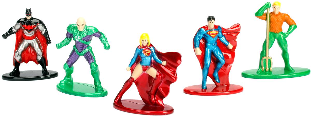 Jada DC Comics Набор фигурок DC Pack 2 5 шт jada dc comics фигурка batman