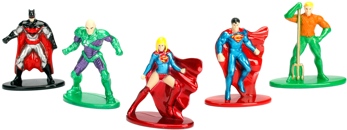 Jada DC Comics Набор фигурок DC Pack 2 5 шт набор фигурок cut the rope 2 pack 1